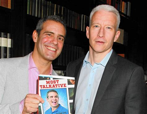 intimate night  anderson cooper andy cohen