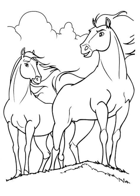 Kleurplaat Paarden Spirit by Kleurplaat Spirit Kleuren Nu Paard Spirit Kleurplaten