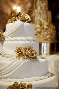 gold wedding cake white and gold white and gold wedding cake pictures