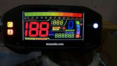 modifikasi dan pin out speedometer satria fu injeksi mazpedia