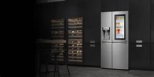 Lg U0026 39 S Spacious Side By Side Freezer  U0026 Refrigerator