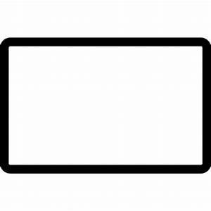 Forma geométrica rectangular en contorno - Iconos gratis ...