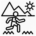 Icon Outdoor Activities Trail Running Oregon Adventure