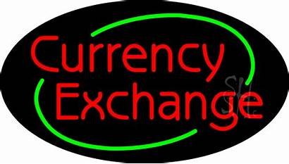Exchange Currency Neon Sign Animated Signs