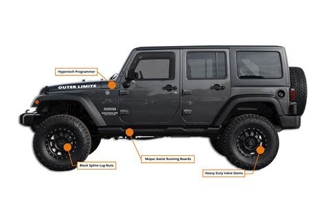 Hb Chrysler Jeep by Jeep Wrangler Outer Limits Edition Hb Road Performance