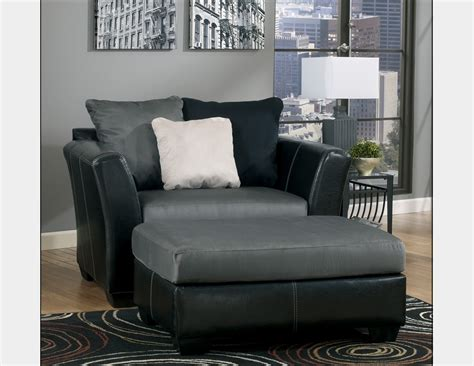 image gallery oversized chair and ottoman