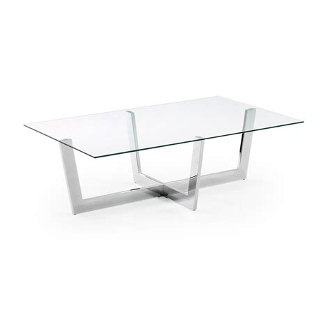 table en verre moderne table basse en verre de design moderne aina