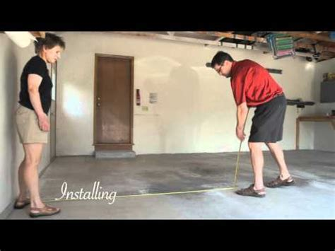 How to Install Flex Tile Garage Flooring   YouTube