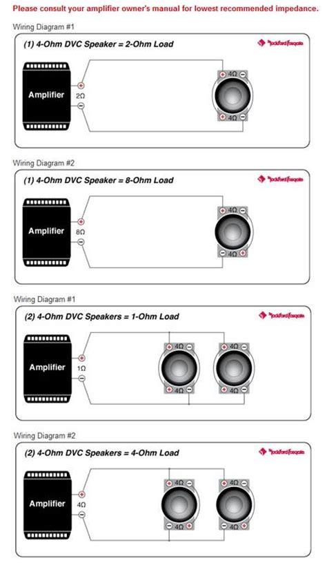 Rockford Fosgate Inch Prime Dual Watt Car Audio