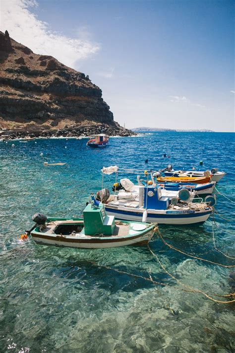 Rock Jumping Santorini Location Location Location