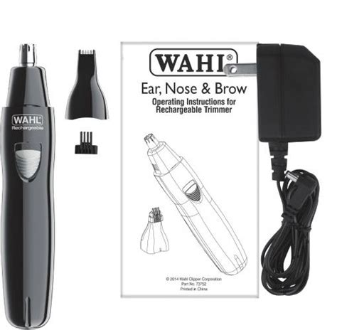 wahl canada grooming styling ear brow nose trimmers deluxe
