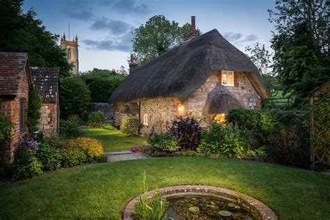 Storybook English Cottage Inside The Faerie Door In