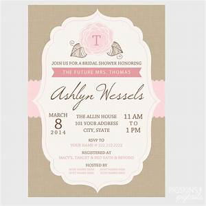 bridal shower invitation wording sample invitations for With sample wedding shower invitations