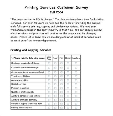 customer survey template 10 customer survey templates doc pdf free premium templates