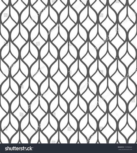 Abstract Black White Pattern by Abstract Geometric Seamless Pattern Black And White