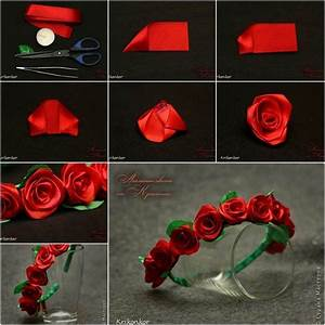 DIY Rose Ribbon Headband Pictures, Photos, and Images for ...