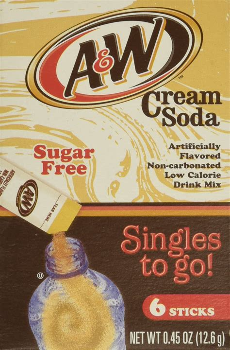 Amazon.com : A&W Root Beer Drink Mix Singles to Go! 6