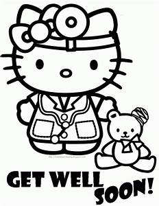 Hello Kitty Cupcake Coloring Pages439489