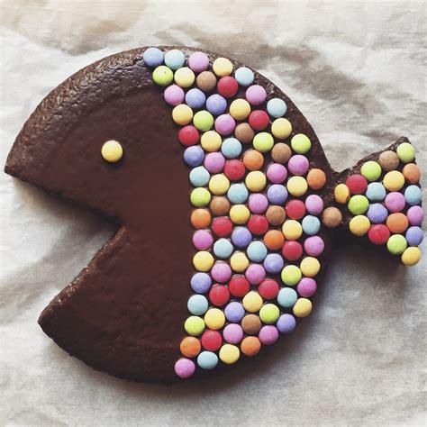 gateau chocolat poisson avril smarties le bonbon cuisine