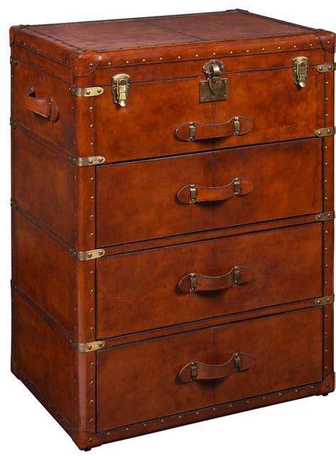 kitchen cabinets drawers shop houzz livluxe designs three drawer trunk accent 2978
