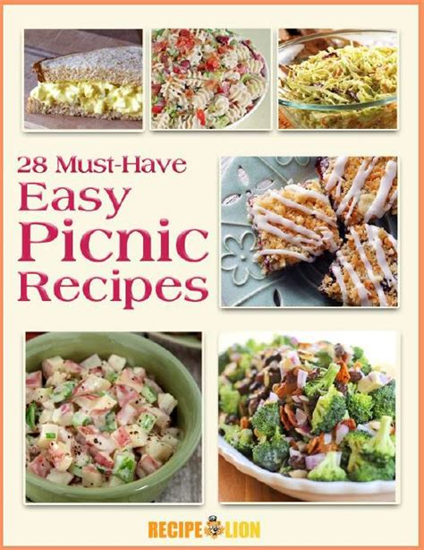 easy picnic food just updated 28 must have easy picnic recipes ecookbook