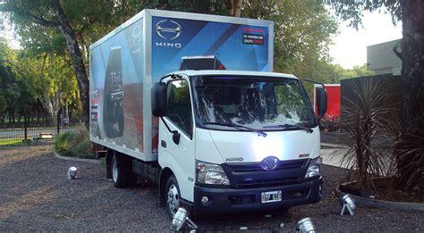 los camiones hino ya est 225 n a la venta en argentina 16 valvulas