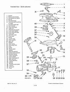 Is There A Manual Posted For Zenith Carb Rebuild