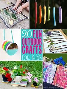 20 Fun Outdoor Craft Ideas for Kids - The Scrap Shoppe