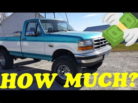How Much Ford F150 Cost by How Much Did It Cost 1994 F150 4x4