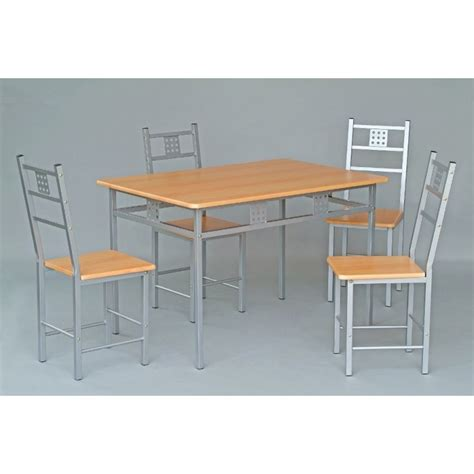 ensemble table chaises cuisine ensemble table et 4 chaises de cuisine panel meuble magasin de meubles en ligne
