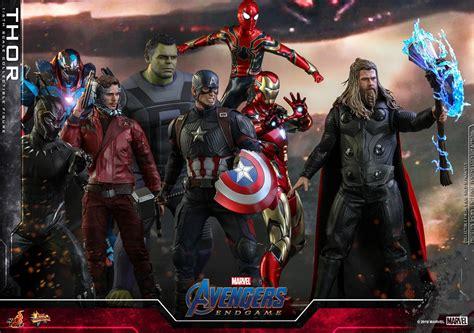 hot toys endgame thor hulk  figures  order