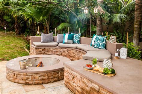 build  firepit sa garden  home