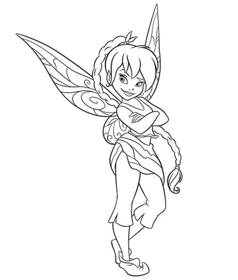 Fawn Beautiful Disney Fairies Coloring Page Download