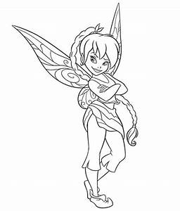 Top 73 Disney Fairies Coloring Pages - Free Coloring Page