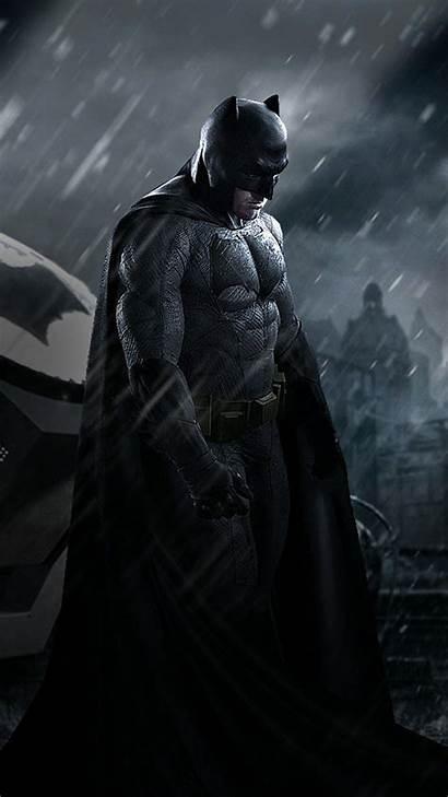 Batman Iphone Mobile 4k Batfleck Superman Wallpapers