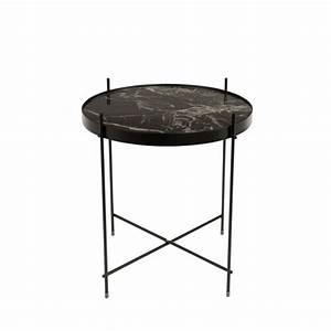 Table Basse Ronde Marbre : table basse design ronde cupid s marble zuiver ~ Teatrodelosmanantiales.com Idées de Décoration