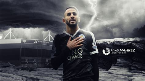 riyad mahrez wallpaper iphone | World Football Gallery