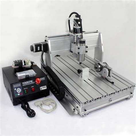 free 10 tools new 2200w spindle mini cnc 6040z 4 axis router engrave mill machin ebay