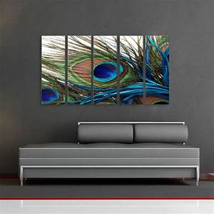 peacock feathers wall art decor and art decor on pinterest With peacock wall art