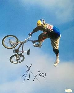 Dave Mirra Signed Bmx Legend 11x14 Photo X Games Autograph