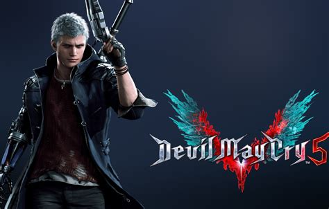 Devil may cry 5 ringtones and wallpapers. Wallpaper DMC, Nero, Devil May Cry 5, Videogame images for desktop, section игры - download