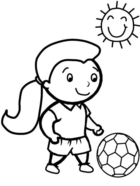 soccer  sports coloring pages coloring page book  kids