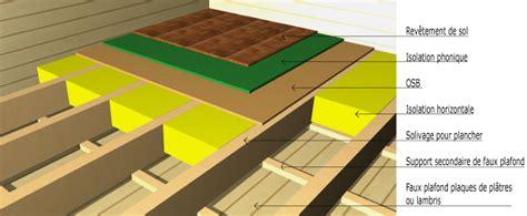 isolation phonique maison ossature bois finest fixation mcanique panneau support parevapeur