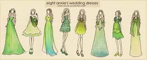 Eight Annie's Dresses by xxIgnisxx on DeviantArt
