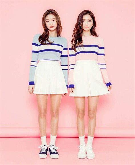 BFF Matching Outfits! | Korean Fashion Amino
