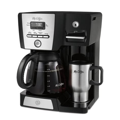 The using process is so easy. Mr. Coffee 12-Cup Versatile Brew Programmable Coffee Maker ...