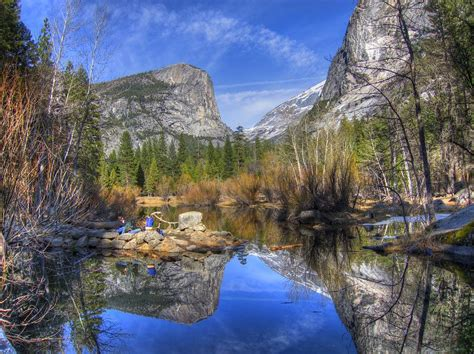 Mirror Lake Yosemite Autumn Photograph By Eric Mui