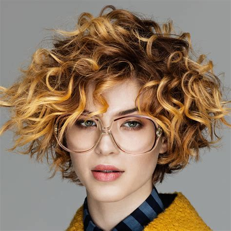 short curly haircuts  long faces short  cuts hairstyles