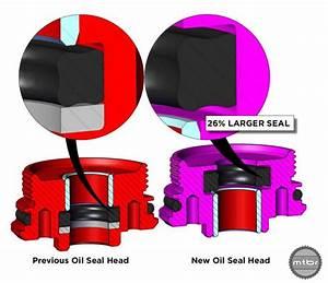 Cane Creek DB Air [IL] has improved oil seal head, shaft ...