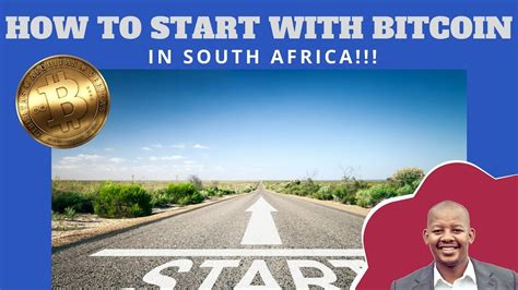 You can watch the 8 minute video or scroll down to read. How To Get Started With Bitcoin in South Africa - YouTube